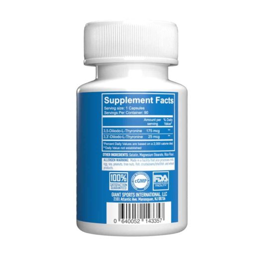Thyrotwin supplement facts