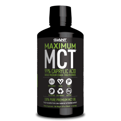 Maximum MCT Oil Caprylic Acid