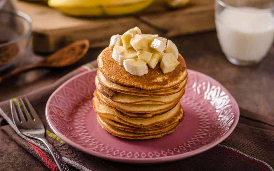 Protein Pancakes using Giant Sports Banana Protein