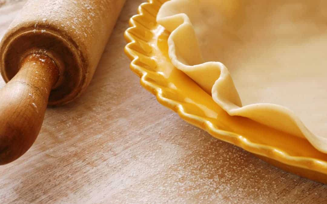 Healthy Pie Crust made with Protein Powder