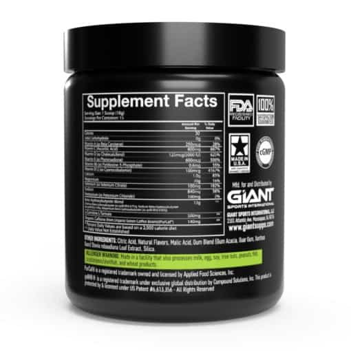 keto rise supplement facts