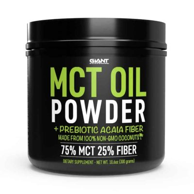mct oil powder supplement