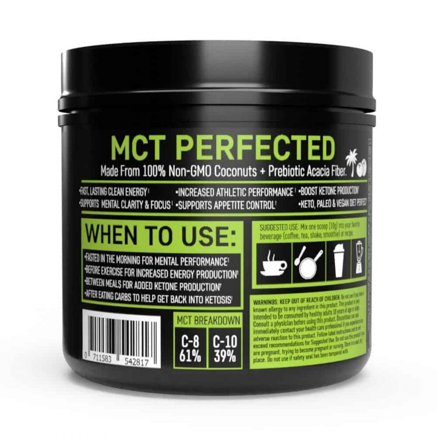 mct oil when to use bottle