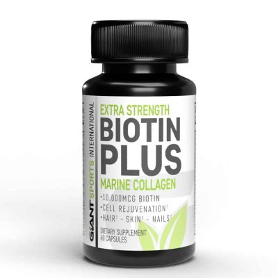 biotin plus bottle