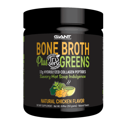 Collagen Peptides and Organic Greens Soup