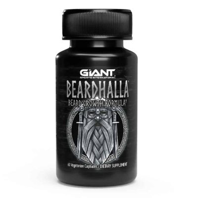 Giant Sports Beardhalla beard growth formula