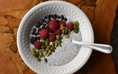 Cheesecake Chia Bowl