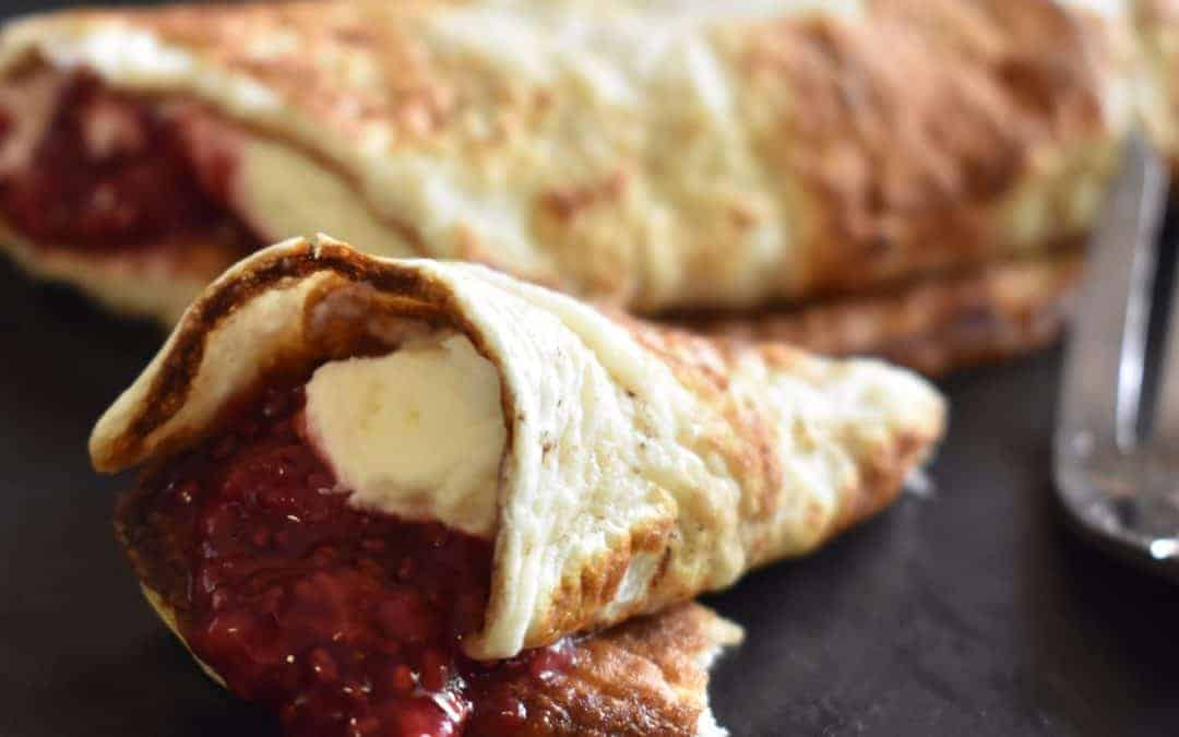 keto-friendly protein crepes