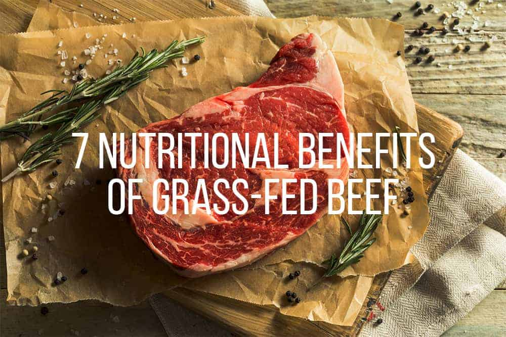 nutritional benefits to grass-fed beef