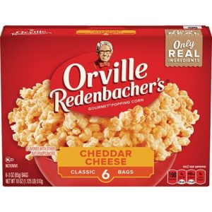 Orville Redenbacher's Cheddar Cheese Box
