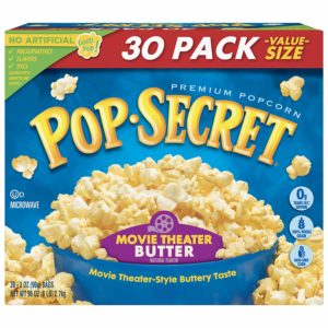 Pop Secret Popcorn Box