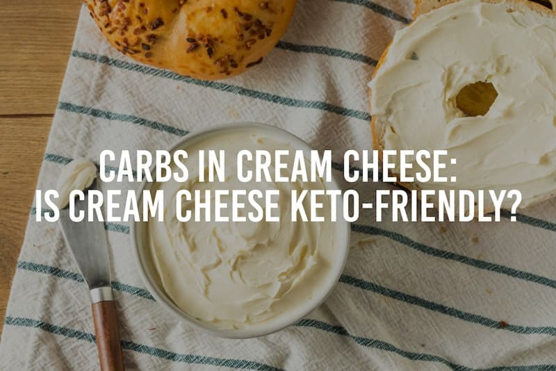 carbs in cream cheese