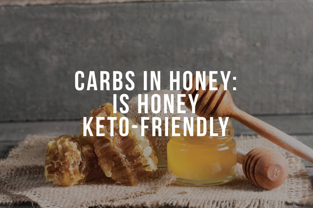 carbs in honey